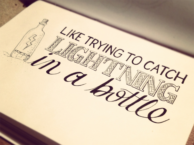 Hand Lettering Quotes by Sean McCabe - Daily Inspiration