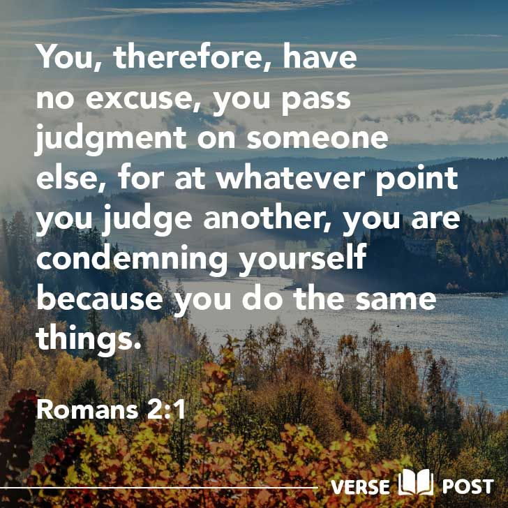 Image result for Romans 2:1