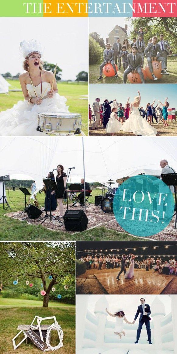 Music Themed Living Room Decor: Entertainment Ideas For A Festival Themed Wedding