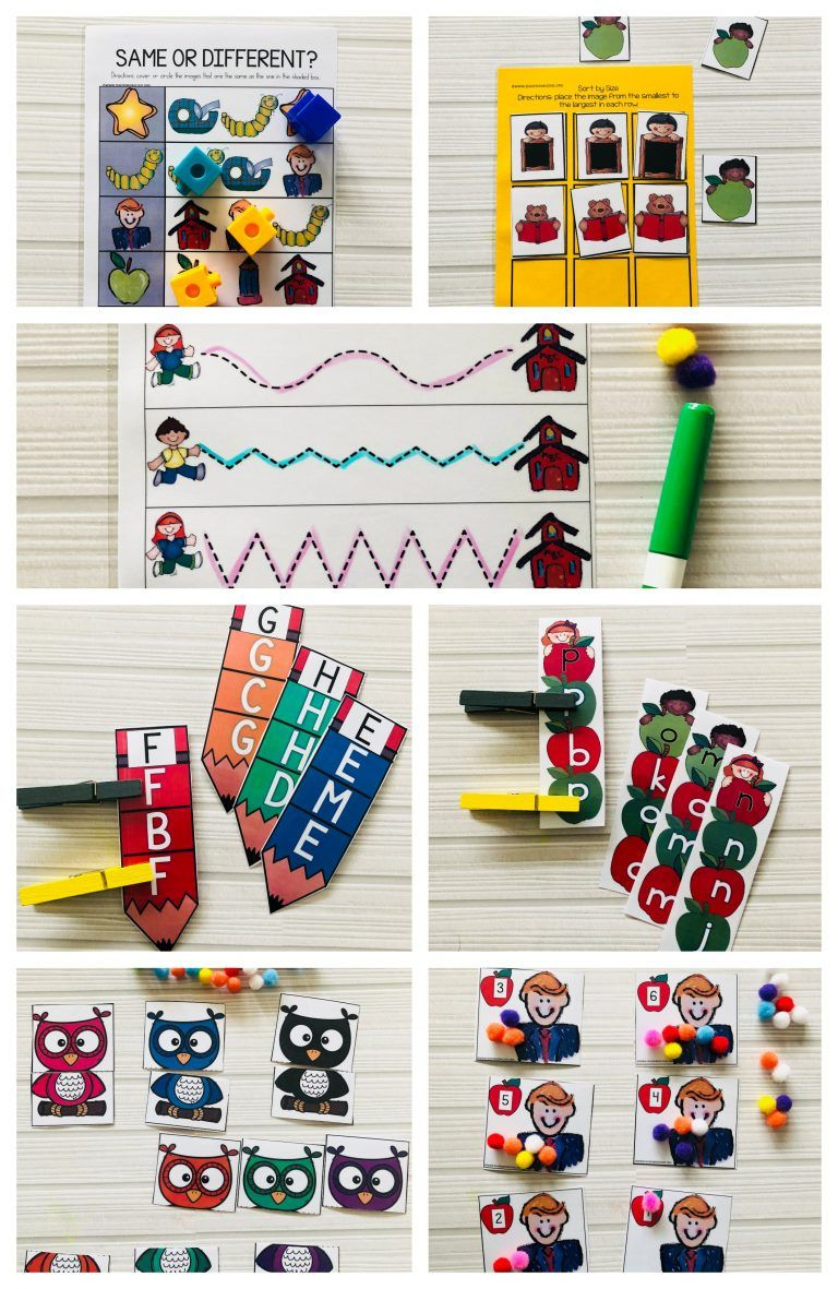 Back To School Fine Motor Skill Activities For 3 5 Year Olds Ot
