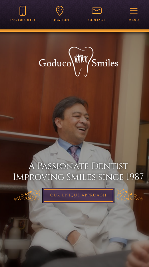Goduco Family Dentistry Emergency Dentist Dental Website Family Dentistry