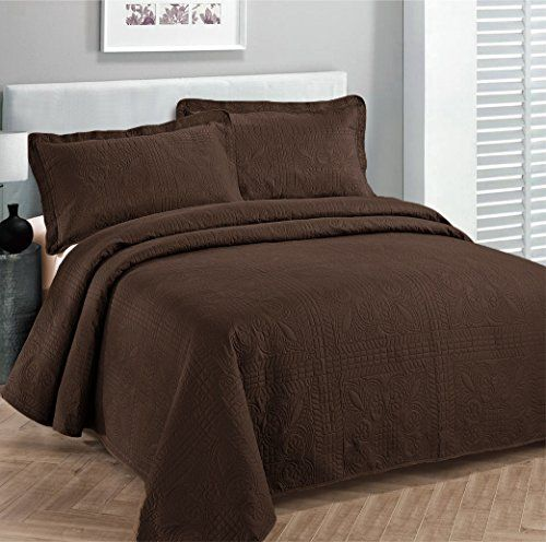 Fancy Collection 3pc King California King Oversize Bedspread