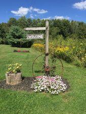 31 Country Yard Project Ideen die Ihr Garten braucht wwwpossibledecor