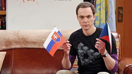 Sheldon kisses penny