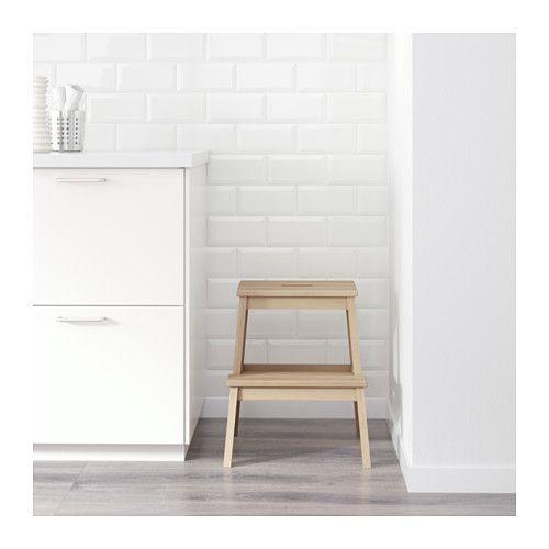 Fine Ikea Bekvam Birch Step Stool Kitchen Step Stool Ikea Machost Co Dining Chair Design Ideas Machostcouk