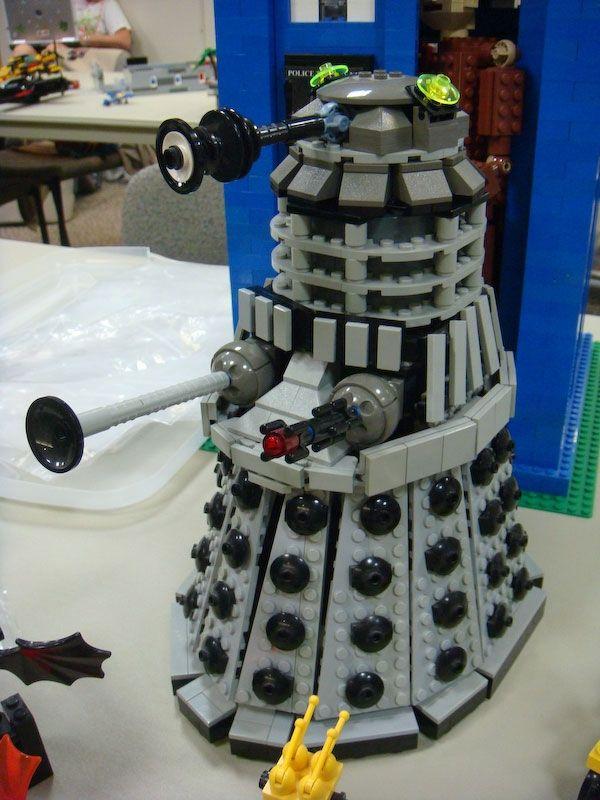 LEGO Dalek.