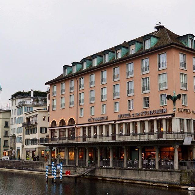 The Stunning Hotel Zum Storchen Dates Back To 1357 And Is A Charter Member Of Historic Hotels Worldwide Suc Historic Hotels Stunning Hotels Switzerland Travel