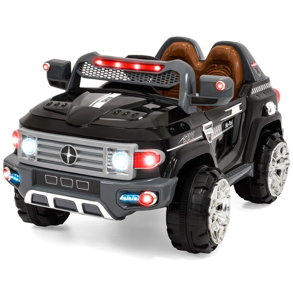Kids Ride On Car Battery Ed 12v Fun Led Suv Mp3 Rc Aux 2 Sds