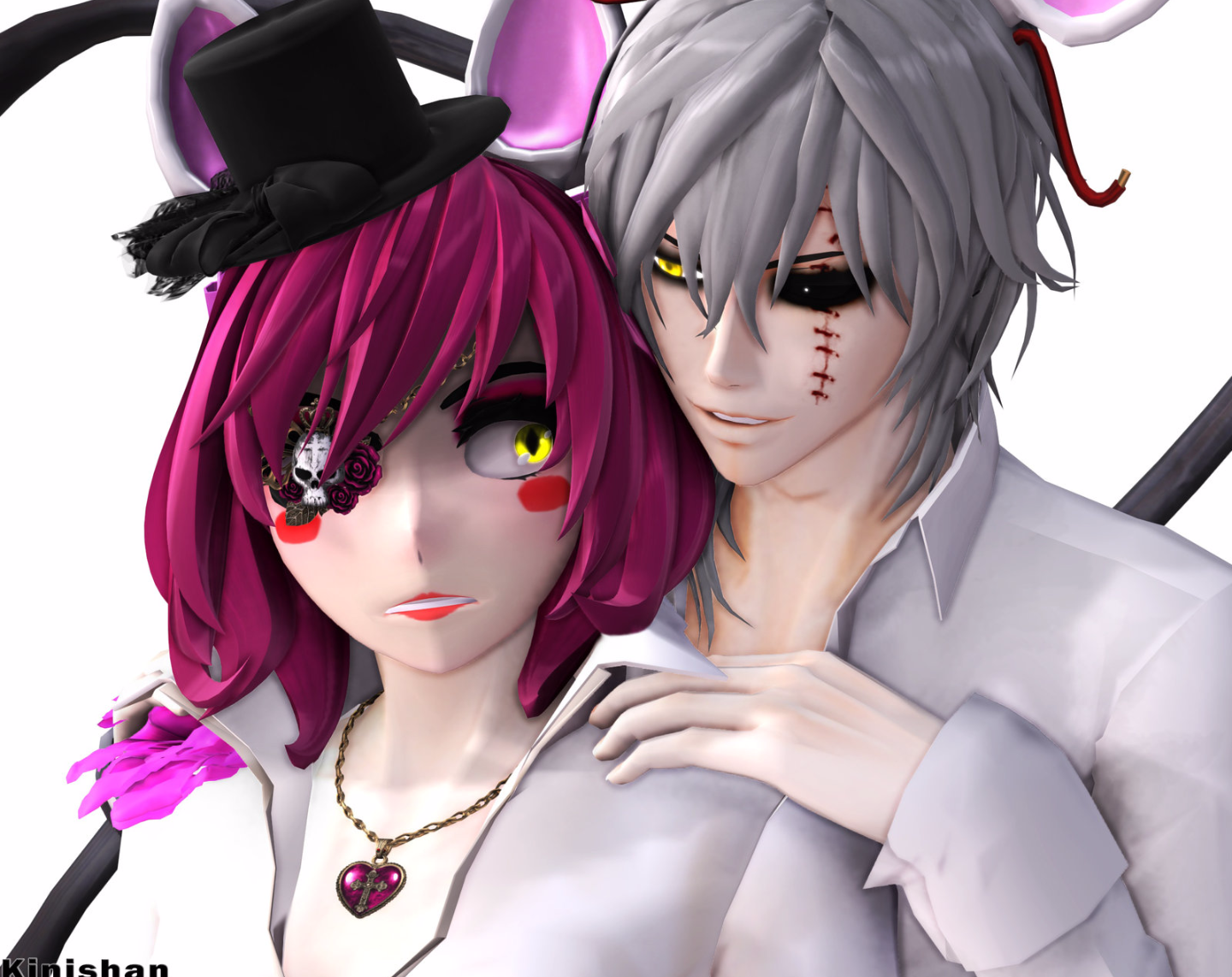 Toy chica x fem mangle preview undertale plans by red - What Do You Think Of The Male And Female Mangle Owo