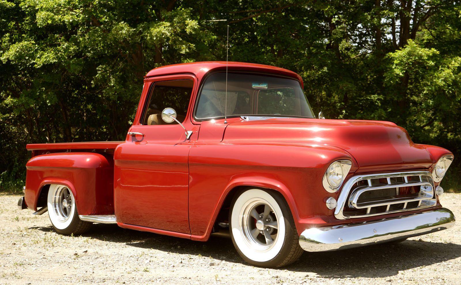 Truck 1957 chevy truck parts : Chevrolet: Other Pickups Big Block, Big Window Restored Show Truck ...