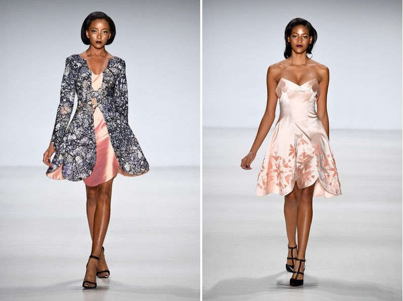 On Deola Sagoe At Mercedes Benz Fashion Week NY #spring2015 #nyfw #africanfashion #nigeriandesigner