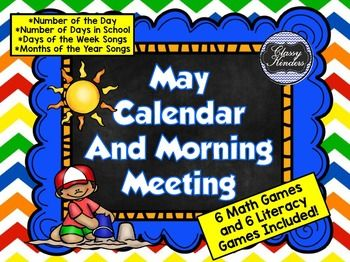 May SMART board Morning Meeting and Much More!