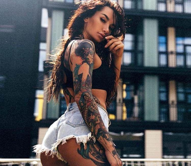 Sexy Tattooed Women