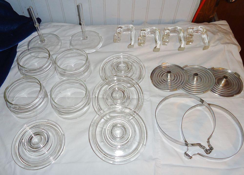 Pyrex Glass Coffee pot Percolator replacement parts Pyrex