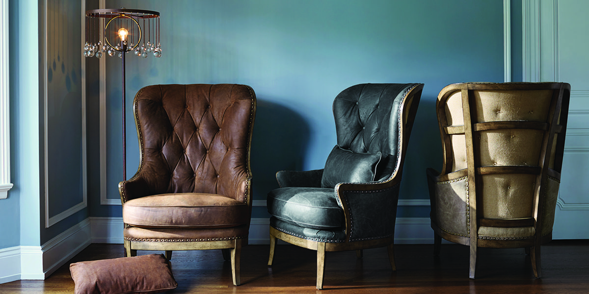 A Fresh Approach To A Favorite Our Portsmouth Chair Is Now Available In New Colors Vintage Leather And Arhaus Furniture Leather Furniture Fantastic Furniture