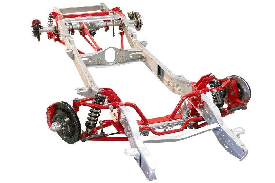 Tci 63 72 C 10 Chevy Pickup Truck Ifs Front Suspension Kit Shown