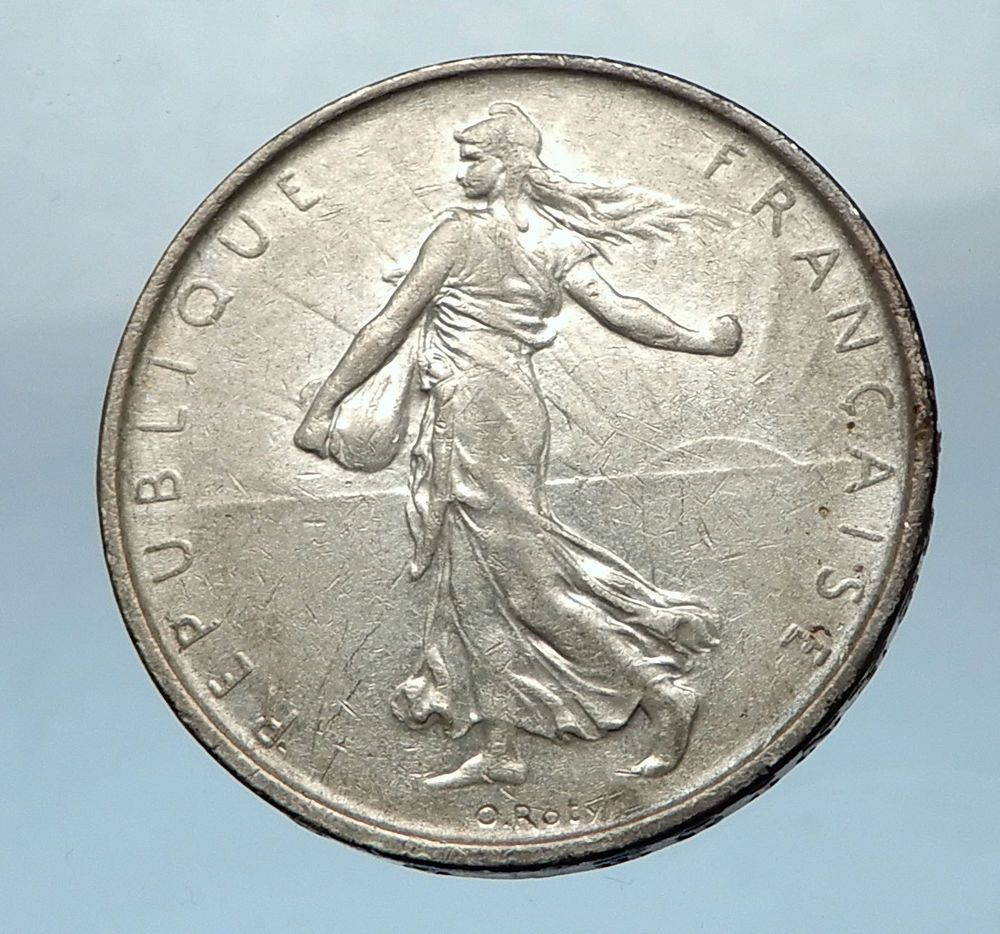 French Coin 1 Coin from This lot FRANCE    5   FRANCS 29MM