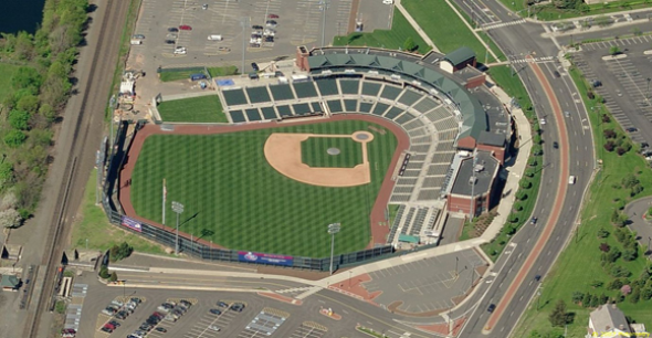 Sommerset Nj The Sommerset Patriots The Atlantic League Stadium Ballparks Baseball Stadium