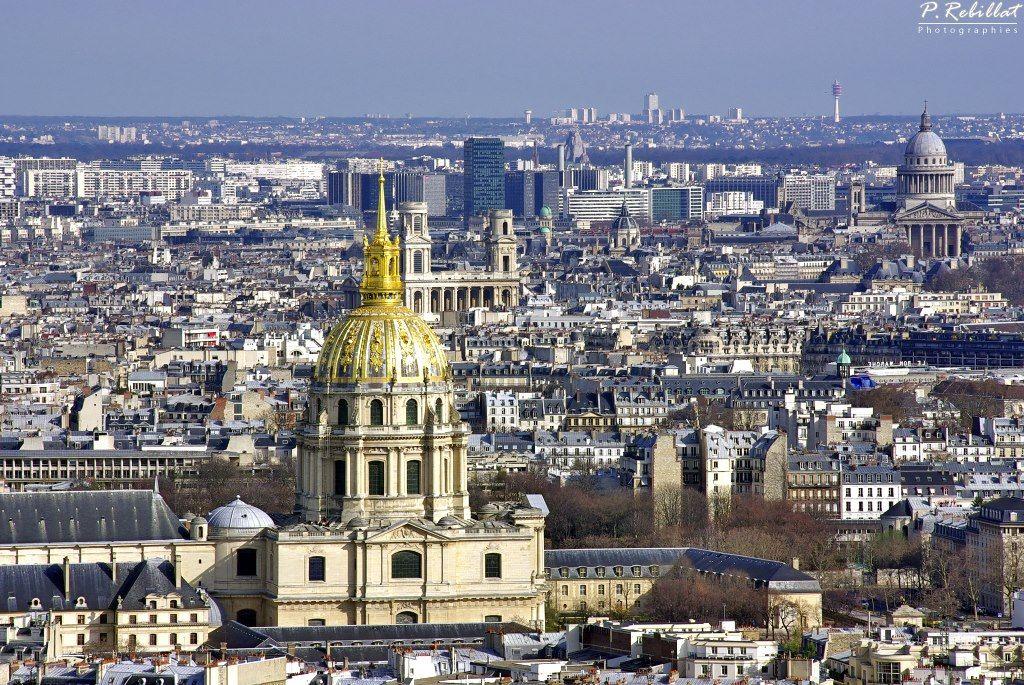 Paris - Les Invalides - Saint-Sulpice - la Sorbonne - Le Panthéon