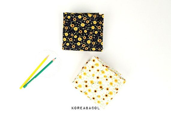 Mini sun flower fabric Mini sun flower pattern 44x35 by KoreaBacol