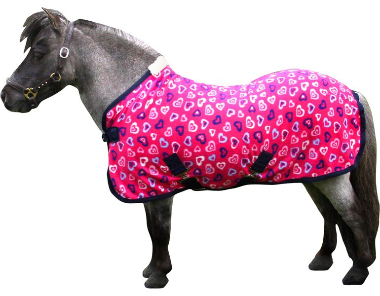 Iv Horse Wee Small Pony Print Fleece Rug 2 9 3