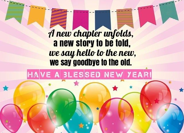 New Year's Eve Wishes Messages | Girls birthday party ...