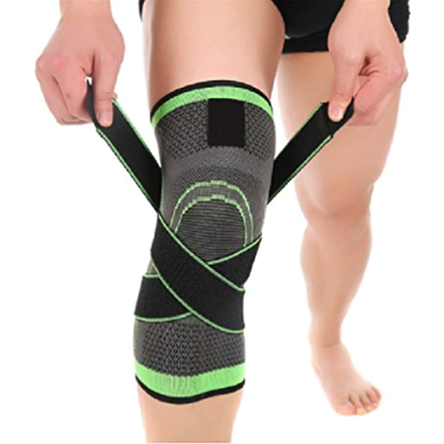f31be529ec UNKE Ultimate Knee Compression Support Sleeve – Flexible Breathable Knee  Brace For Running, Sports #teamsports