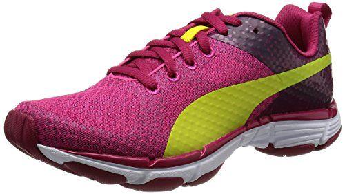 Puma Mobium V2 Ride Women\u0027s Running Shoes - 5.5 - Red PUMA http://