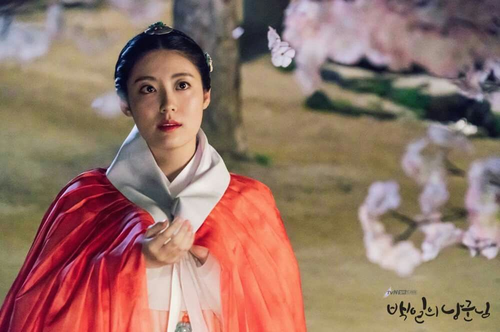 Nam Ji Hyun As Hong Sim 100 Days My Prince