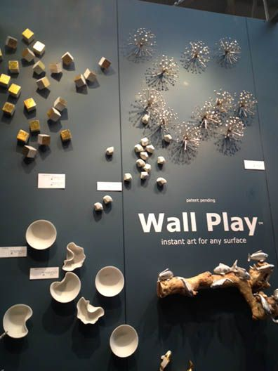 Wall sculpture from Gold Leaf Design Group