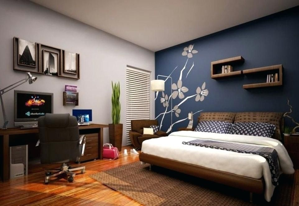 Accent Colors For Grey Walls Best Accent Colors For Grey Walls Accent Colors For Gray Walls Inten Blue Master Bedroom Bedroom Wall Designs Modern Bedroom Decor