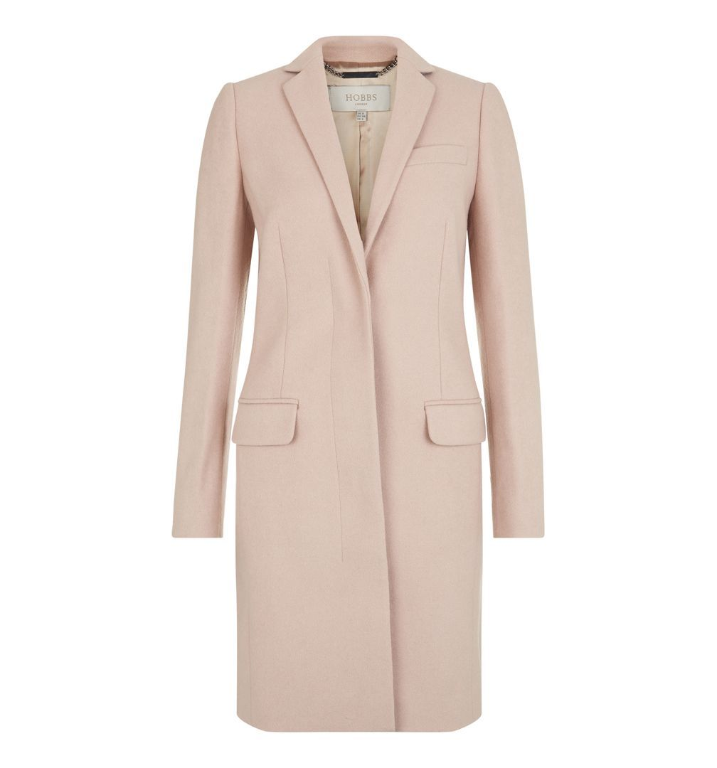 Shona Coat - Hobbs Would go with nude shoes and blue dress ...