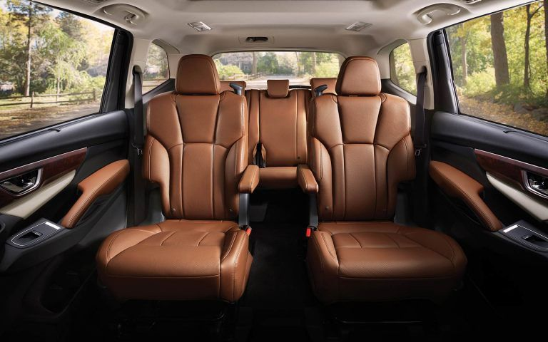 Interior Of Ascent With Captain S Chairs Suv Cars Best Suv