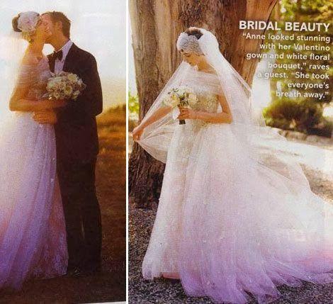 Sonar con vestido de novia regalado