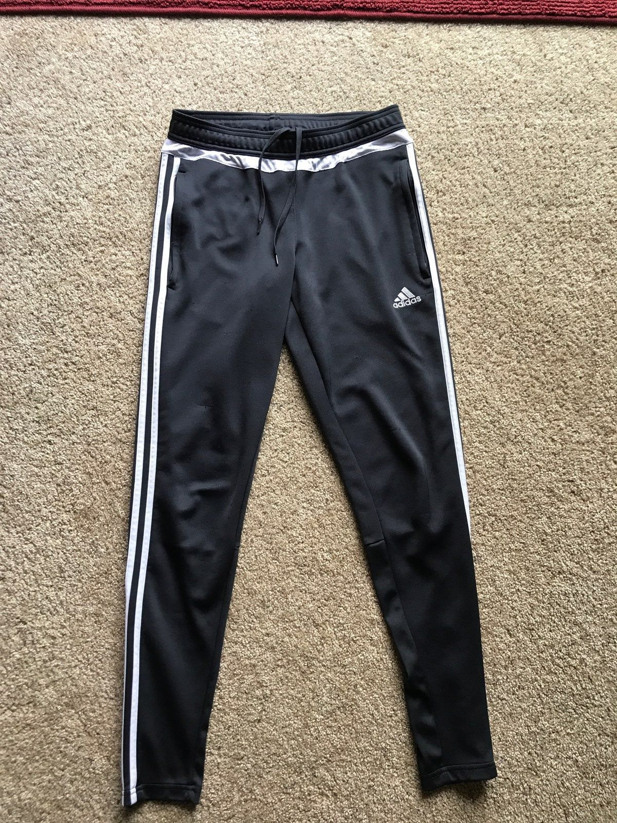 adidas soccer pants full stripe