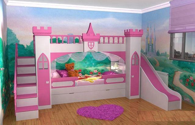 Camas originales para decorar dormitorios de ni as 4 decoraci n infantil en 2019 cuarto ni a - Dormitorios originales para ninos ...