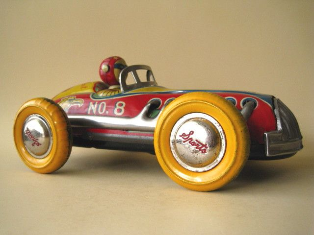 Tin race car