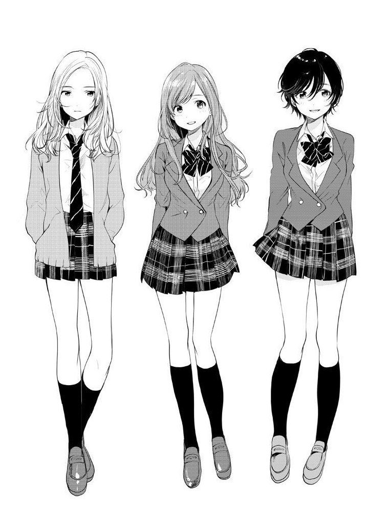 Photo of school uniform outfits high school anime
