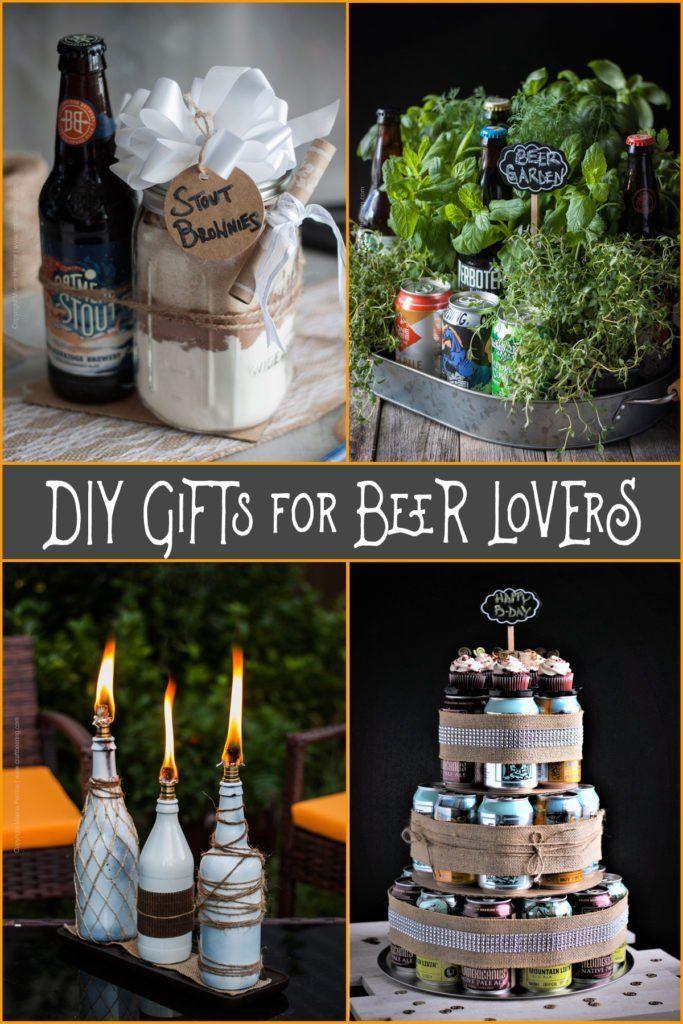 DIYGeschenke für Bierliebhaber Eine Runde kreativer