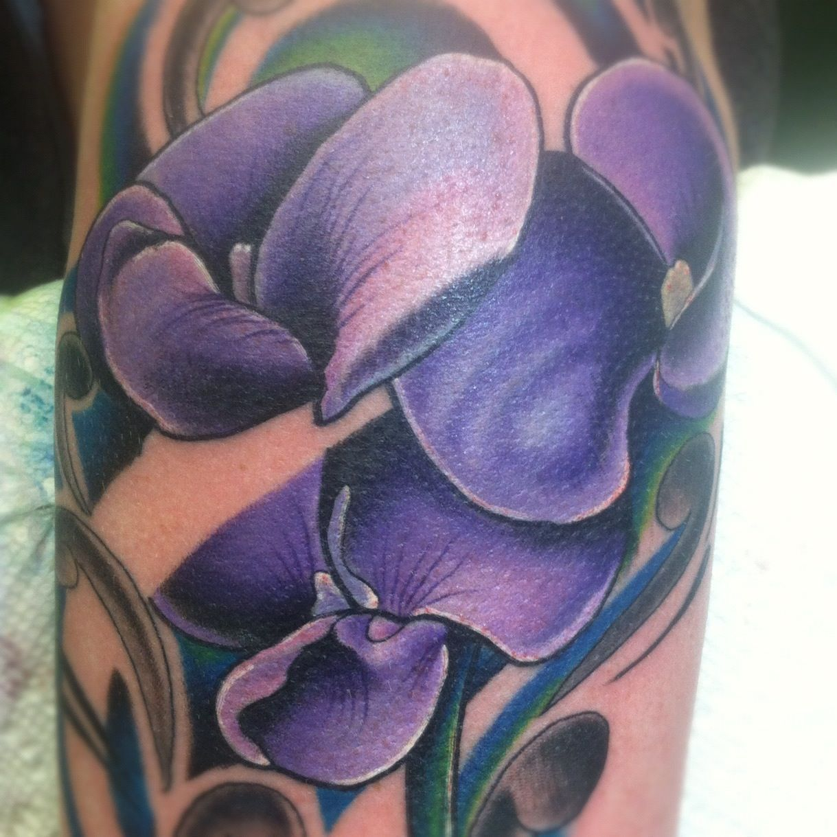 Tattoos of Sweet Pea Plants - Bing Images | Tattoos ...