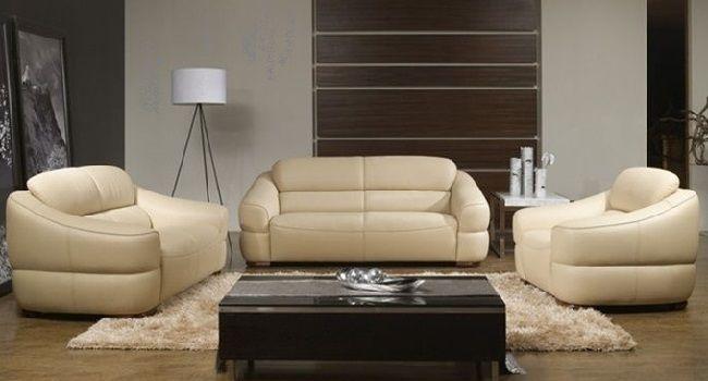 Cream Color Leather Sofa Set Sofa Sofaideas Sectional Chair