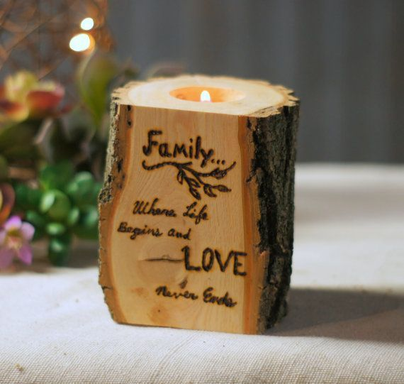 cool Burned Log Candle Holder - Rustic Home Decor - Primitive Decor - Reclaimed Tealight holder - Rustic Tealight Holder - Wedding Centerpiece by http://www.homedecor-expert.xyz/log-home-decor/burned-log-candle-holder-rustic-home-decor-primitive-decor-reclaimed-tealight-holder-rustic-tealight-holder-wedding-centerpiece/