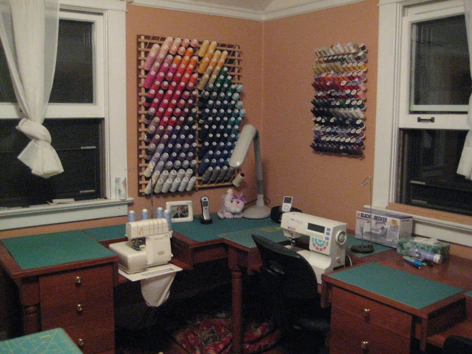 sewing room set up room set sewing
