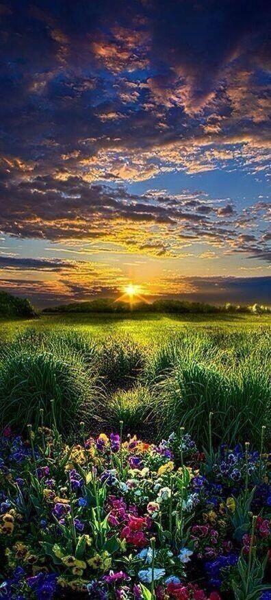 Puesta de sol. Wisconsin