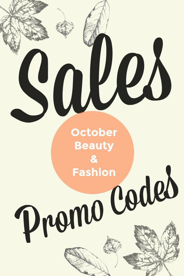 Code Promo Beauty Bay : promo, beauty, October, Beauty, Fashion, Sales, Promo, Codes, GlamWar.ous, Code,, Beauty,, Products