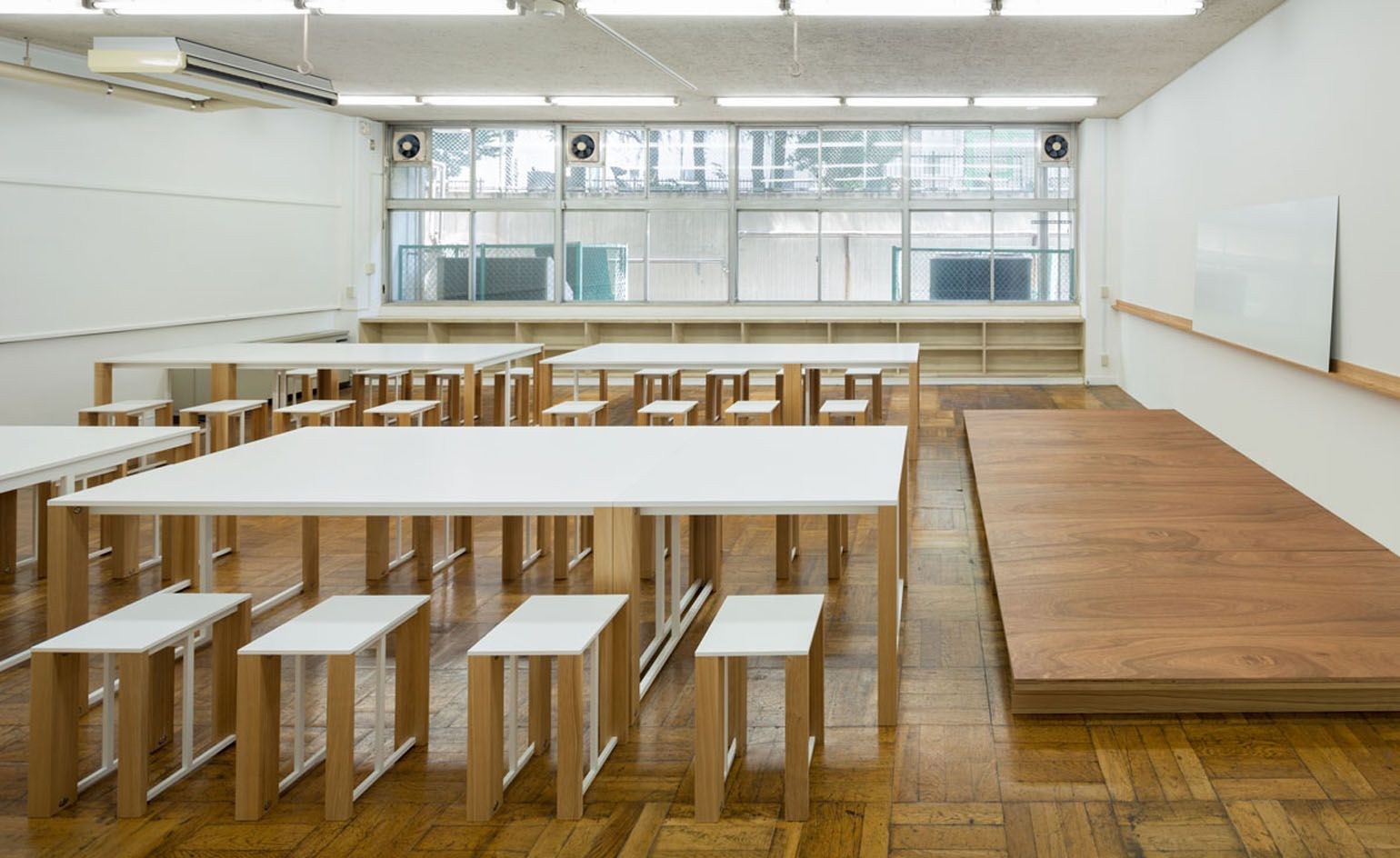 Charming Classroom Style: Schemata Architects Design Furniture For A School In Tokyo