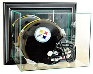 "Perfect ""Wall Mount Football Helmet"" Display Cases - $81"
