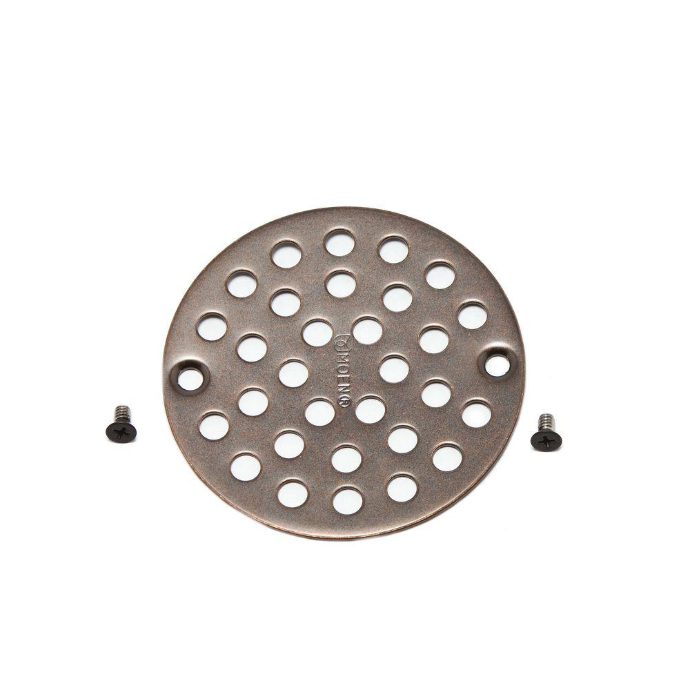 Trustmi Square 4 Inch Screw In Shower Floor Drain Cover Strainer