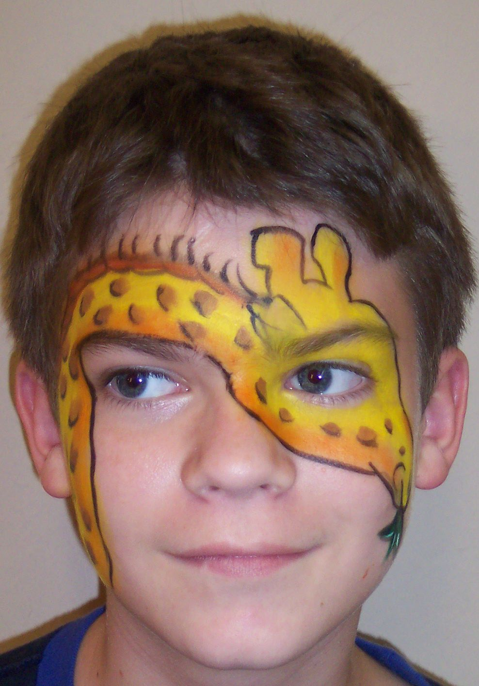 Giraffe Face Paint