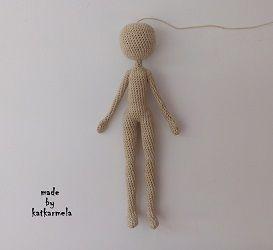 Бесплатная схема с описанием вязания каркасной куклы ...